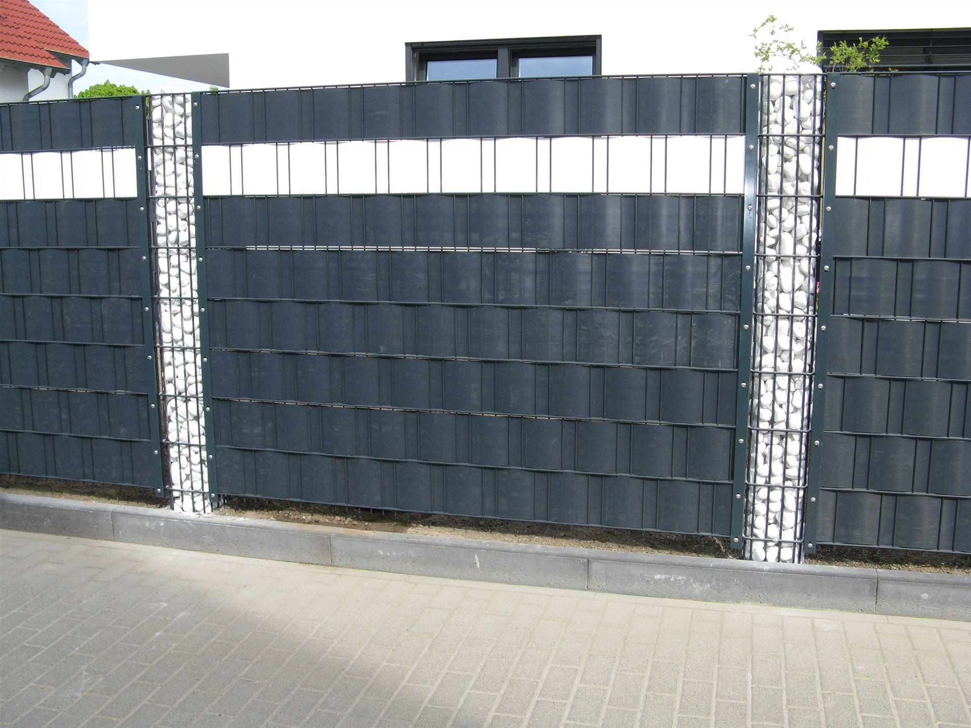 Sichtschutz Zaun